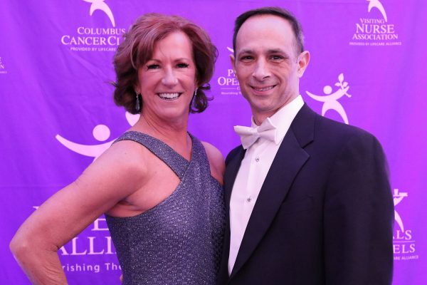Patricia Ammendola and John Ammendola. Big Wheels 2018. Photo by Anthony Clemente, LifeCare Alliance.