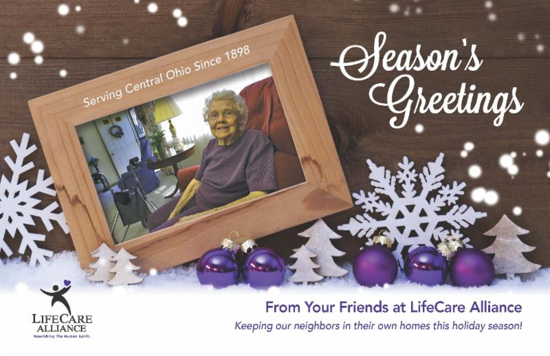 LifeCare greeting card