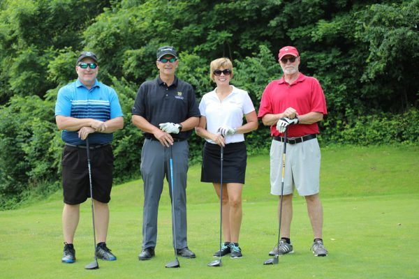 Wesney Construction/Schneider Downs Team - Scott Wesney, Larissa Wesney, Jay Meglich, Dave Mooney