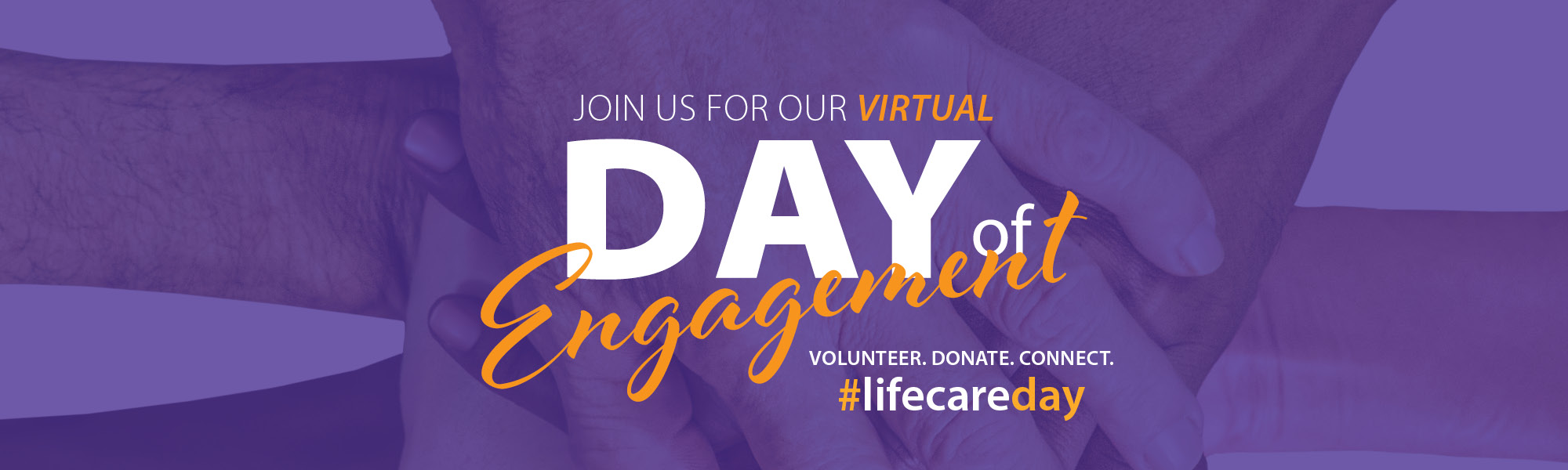 Join us for our virtual Day of Engagement
