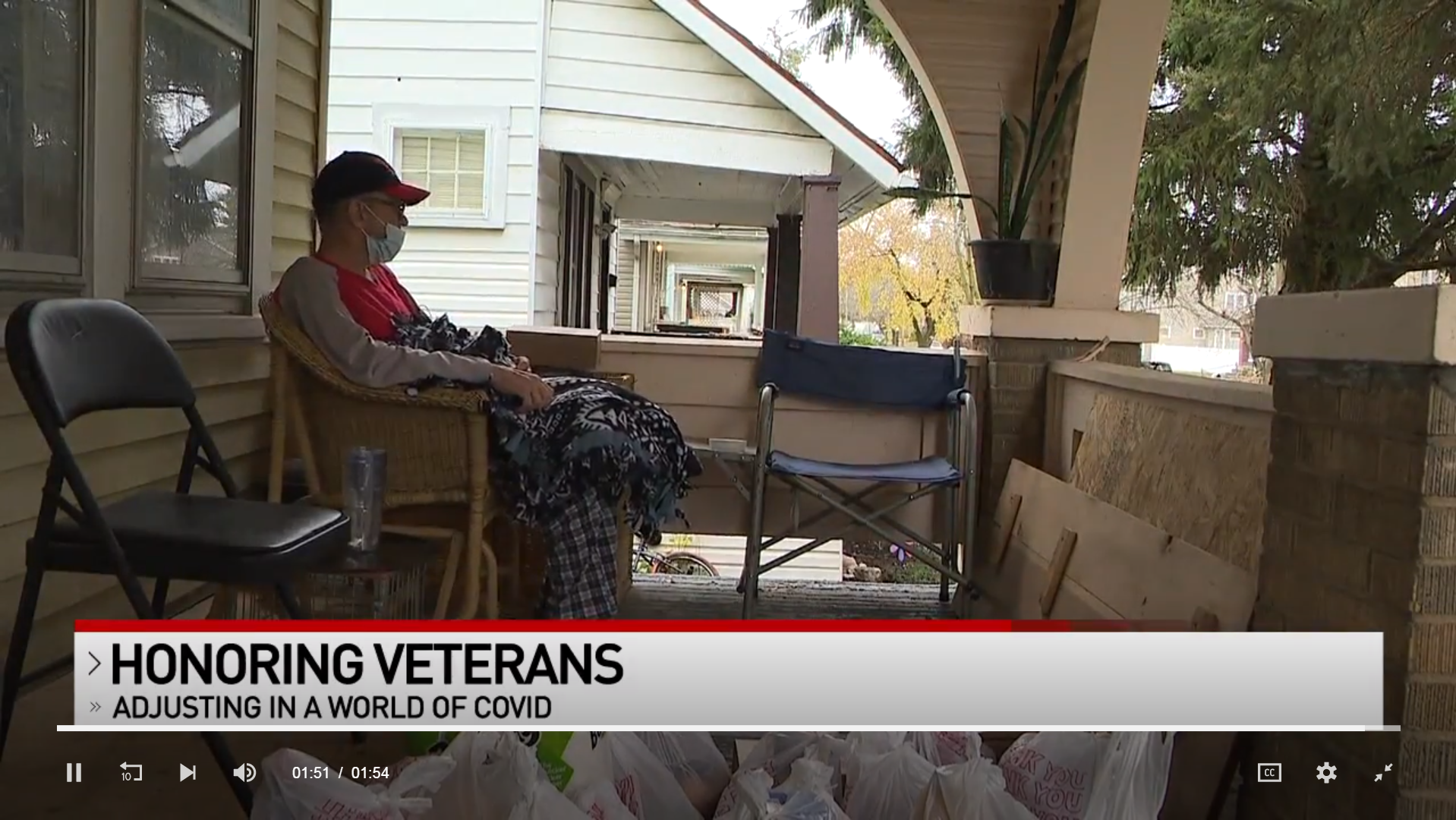 ABC6: LifeCare Alliance, Fallen 15 Volunteers Support Veterans, Families in Need for Veterans Day